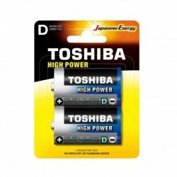 Toshiba LR20GCP BP-2CN - Piles LR20 - Pack de 2