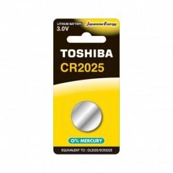 Toshiba CR2025 BP-1C - Pile CR2025 - Pack de 1