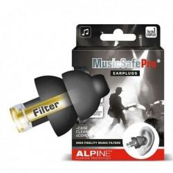 Alpine MUSICSAFEPRO-BLK - Protections auditives MusicSafe Pro