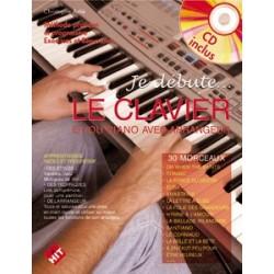 Christophe Astié - Je Débute le Clavier - Recueil + CD