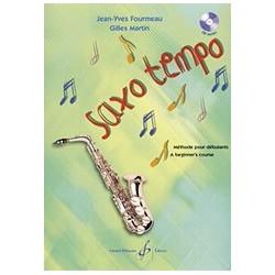 Jean-Yves Fourmeau/G. Martin - Saxo Tempo 1 - Recueil + CD
