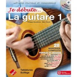 P. Heuvelinne/M. RouvÚ - Je Débute la Guitare 1 - Recueil + CD