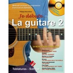 Philippe Heuvelinne - Je Débute la Guitare 2 - Recueil + CD