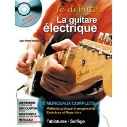 J.P Vimont - Je Débute la Guitare Électrique - Recueil + CD