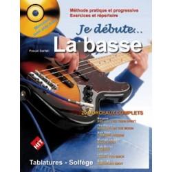 P. Sarfati - Je Débute la Basse - Recueil + CD