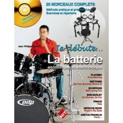 J-P. Fanfant - Je Débute la Batterie - Recueil + CD
