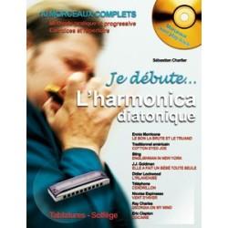 Sébastien Charlier - Je Débute l'Harmonica - Recueil + CD