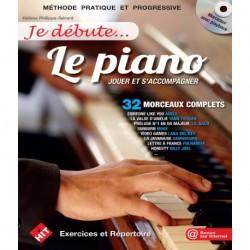 Hélène Philippe-Gérard - Je Débute...le Piano - Recueil + CD