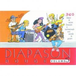 Diapason Rouge Vol. 5 - Recueil