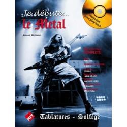A. Michielon - Je Débute le Metal - Recueil + CD