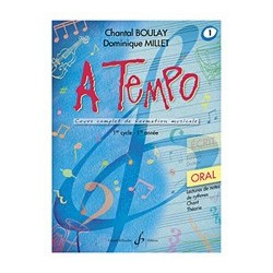 Chantal Boulay - A Tempo - Partie Orale - Volume 1 - Recueil