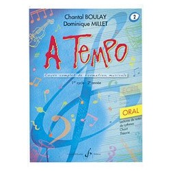 Chantal Boulay - A Tempo - Partie Orale - Volume 2 - Recueil