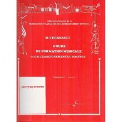 Michel Vergnault - Formation Mus Pour L'Enseignement Du Solfege Prep2 - Recueil