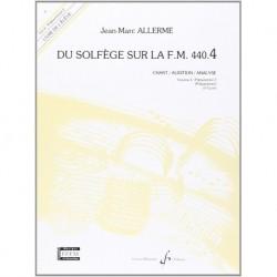 Jean-Marc Allerme - Du solfege sur la F.M. 440.4 - Chant/Audition/Ana. - Recueil
