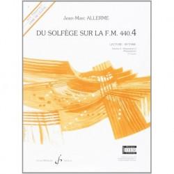 Jean-Marc Allerme - Du solfège sur la F.M. 440.4 - Lecture/Rythme - Recueil