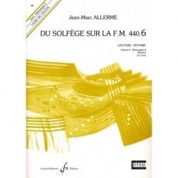 Jean-Marc Allerme - Du solfege sur la F.M. 440.6 - Lecture/Rythme - Recueil + CD
