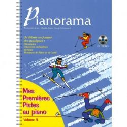 Pianorama Mes Premières Pistes au Piano Vol. A - Recueil + CD