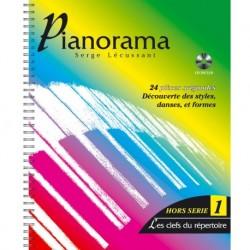 Pianorama Hors Serie 1 - Recueil + CD