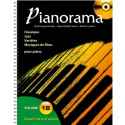 Pianorama Volume 1B - Recueil + CD