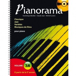 Pianorama Volume 3A - Recueil + CD