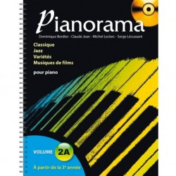 Pianorama Volume 2A - Recueil + CD