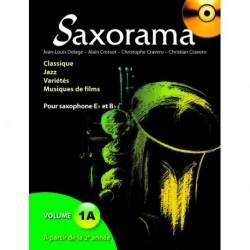 Saxorama Volume 1A - Recueil + CD