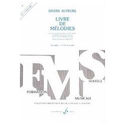 Gérard Billaudot GB4659 - Jean-Clément Jollet - Livre De Melodies Volume 1 - Recueil
