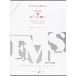 Gérard Billaudot GB4834 - Jean-Clément Jollet - Livre De Melodies Volume 3 - Recueil