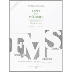 Gérard Billaudot GB4660 - Jean-Clément Jollet - Livre De Melodies Volume 2 - Recueil