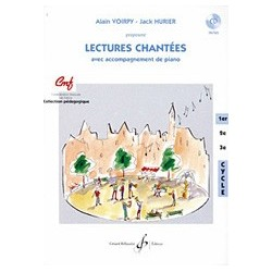 Gérard Billaudot GB7075 - Alain Voirpy, Jack Hurier - Lectures Chantee - 1er cycle - Recueil + CD