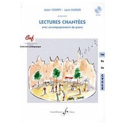 Gérard Billaudot GB7075 - Alain Voirpy, Jack Hurier - Lectures Chantee - 1er cycle - Recueil + CD