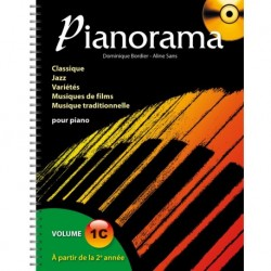 Pianorama Volume 1C - Recueil + CD