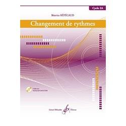 Gérard Billaudot GB8170 - Béatrice Repecaud - Changement De Rythmes - Cycle 2A - Recueil + CD