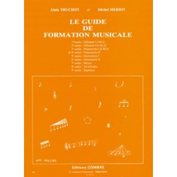 Alain Truchot/Michel Meriot - Guide de formation musicale Vol.4 - Recueil