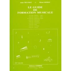 Alain Truchot/Michel Meriot - Guide de formation musicale Vol.3 - préparatoire 1 - Recueil