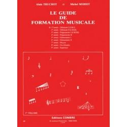 Alain Truchot/Michel Meriot - Guide de formation musicale Vol.1 - débutant 1 - Recueil