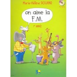 Marie-Hélène Siciliano - On aime la F.M. Vol.1 - Recueil