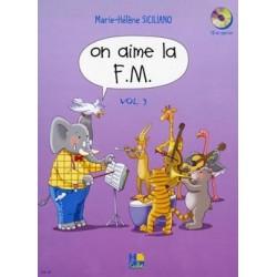 Marie-Hélène Siciliano - On aime la F.M. Vol.3 - Recueil