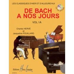 Charles Hervé/Jacqueline Pouillard - De Bach A Nos Jours Vol.1A - Recueil