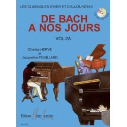 Charles Hervé/Jacqueline Pouillard - De Bach A Nos Jours Vol.2A - Recueil
