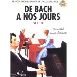 Charles Hervé/Jacqueline Pouillard - De Bach à nos jours Vol.3B - Recueil