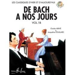 Charles Hervé/Jacqueline Pouillard - De Bach à nos jours Vol.1B - Recueil