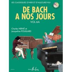 Charles Hervé - De Bach à nos jours Vol. 6A - Recueil
