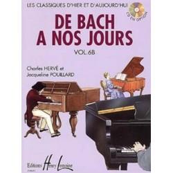 Charles Hervé - De Bach à nos jours Vol. 6B - Recueil