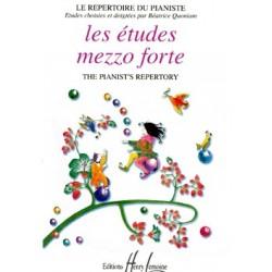 Béatrice Quoniam - Etudes Mezzo Forte - Recueil