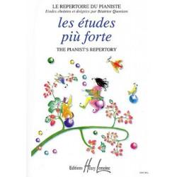Béatrice Quoniam - Etudes Piu Forte - Recueil