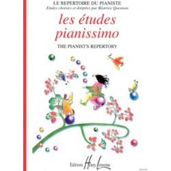 Béatrice Quoniam - Pianissimo Etudes - Recueil