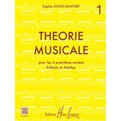 Sophie Jouve-Ganvert - Theorie Musicale Vol 1 - Recueil