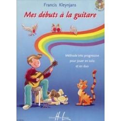 Francis Kleynjans - Mes débuts à la guitare - Recueil + CD