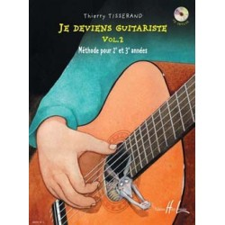 Thierry Tisserand - Je deviens guitariste Vol. 2 - Recueil + CD